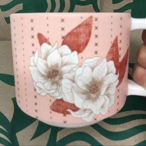 STARBUCKS 2019 Ceramic Floral Mug 12 FL Oz